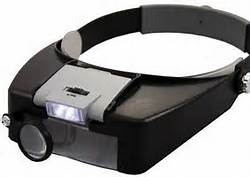 the lice magnifier aids the lice technician when trying to view lice on dry hair